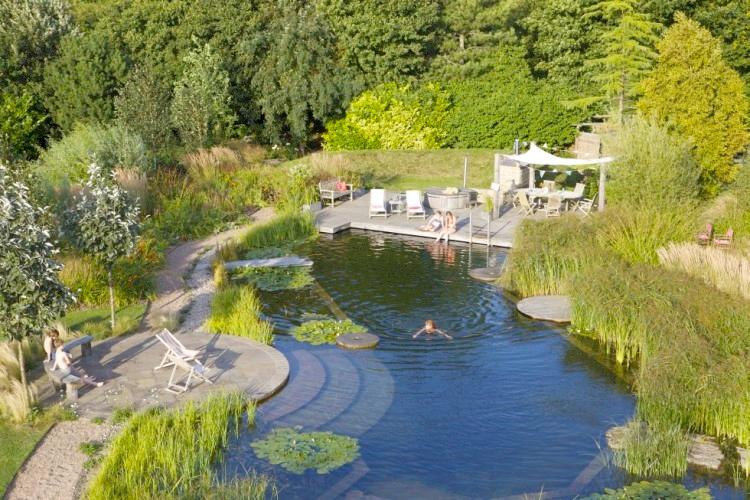 Keller Gartenbau | Wasser im Garten | Swimming Pond